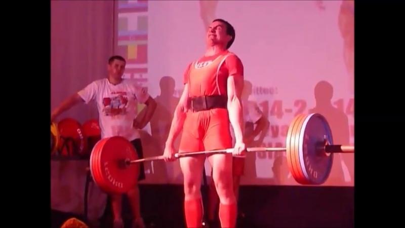 Становая тяга 215 кг Кубок Мира AWPC 2018 г