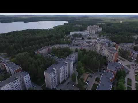 Висагинас Литва Аэросъёмка