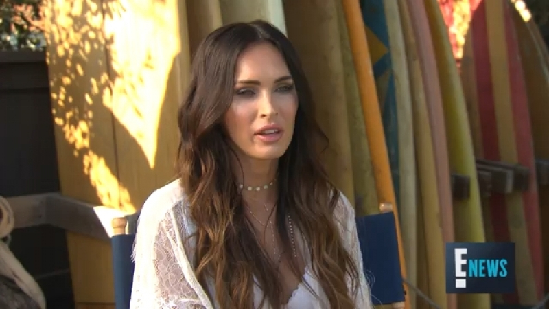 "Megan Fox Wants Lingerie Line to Make Women Confident"" E Live from the Red Carpet"