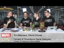 Tim Molyneux and Derick Groves Talk All About Contests of Champions at NYCC 2014 | Marvel Contest of Champions