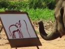 Слон-художник. Очевидное-невероятное