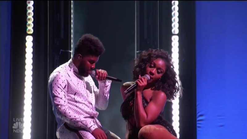 Billboard Music Awards Khalid and Normani Deliver Rousing Performance of Love Lies