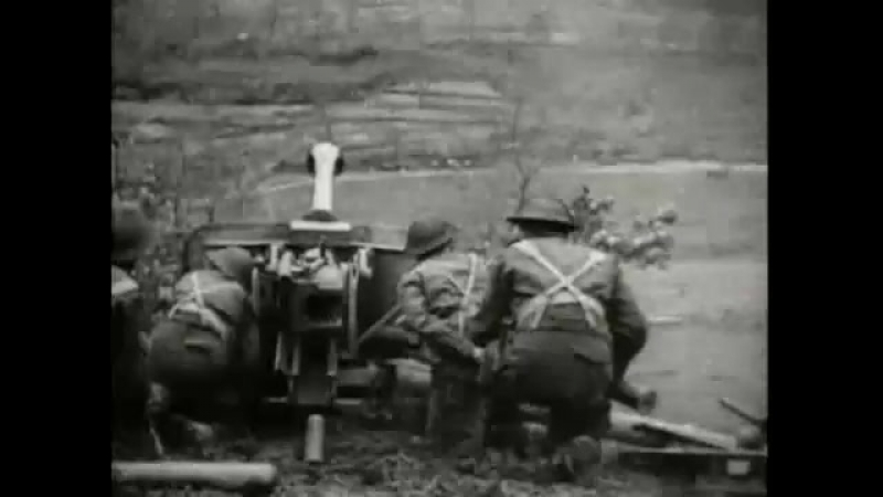 WWII Footage: Commonwealth Troops at Monte Cassino