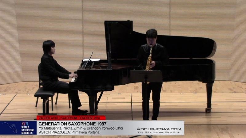 Chant du Menestrel Op71 by Alexander Glazounov Brandon Jinwoo Choi WSC2018 adolphesax