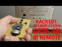 HACKED!: Speaker System gets an IR Remote