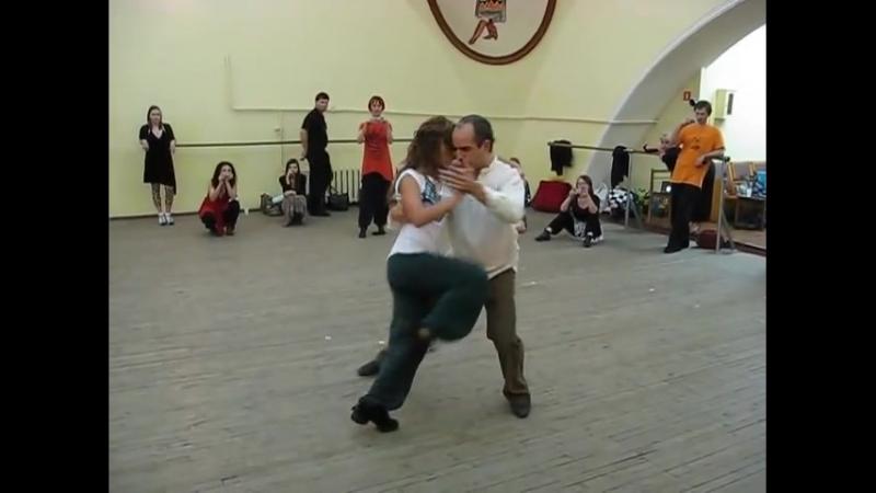 Сесилия Гарсиа и Орасио Годой урок волькады.