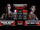 Arthur Meyer Singpatong Vs Zhou Ming Yang Full Fight Muay Thai Phoenix 7 Phuket