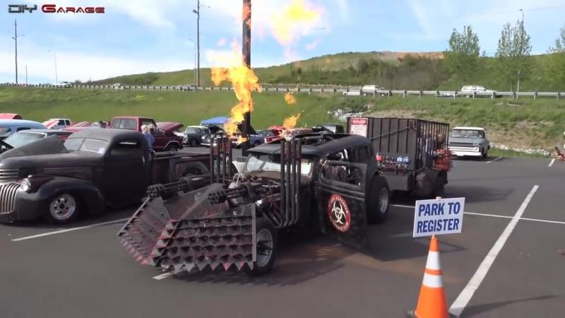 Mad Max Cars Trucks Craziest Rat Rods