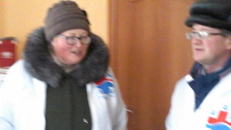 Фельдшеры района об открытии Альгешевского ФАПа, 16.12.2017