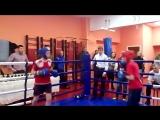 Соревнования по боксу встречный бой