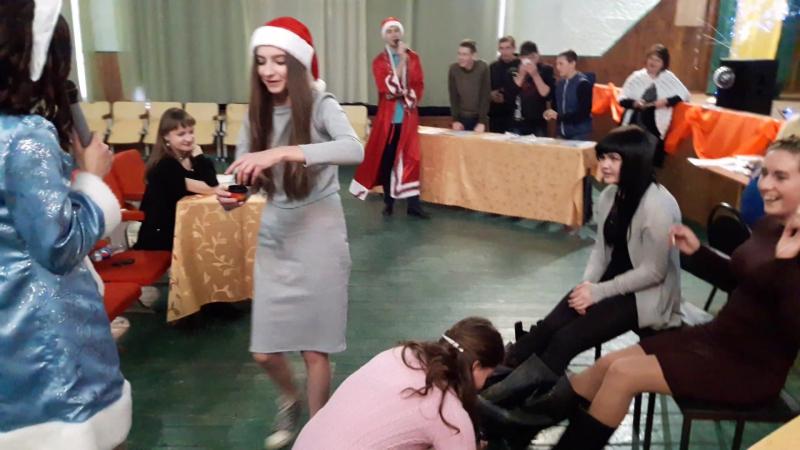 Конкурс Обмін ролями (дівчата)