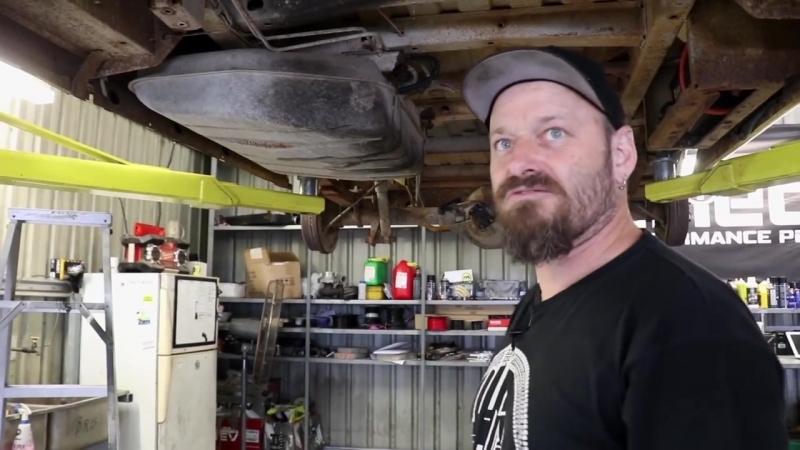 Турбовый мотор Barra от Ford в старый фургон Bedford Часть 2 [BMIRussian]
