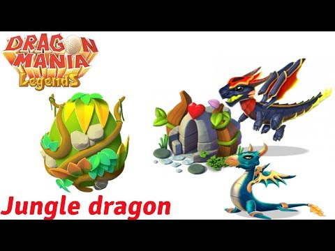 How to Breed Jungle dragon egg Dragon Mania Legends part 981 HD DML
