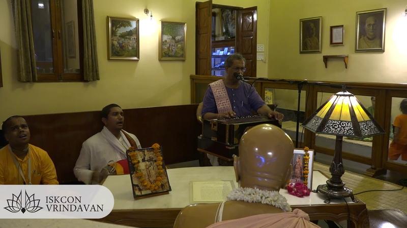 Trikalajna Prabhu Srila Prabhupada House Kirtan 12 07 2018