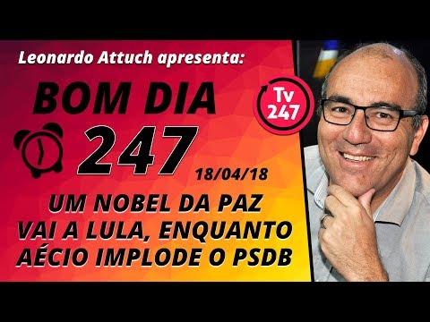 Bom dia 247 (18418) - O Nobel vai a Lula, enquanto Aécio implode o PSDB
