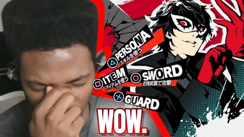 Etika FIRST Reaction to the Persona 5 Battle Theme.