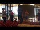 Небольшой отрывочек из танца Sunn Raha Hain Rozana Репетиция Бодрум