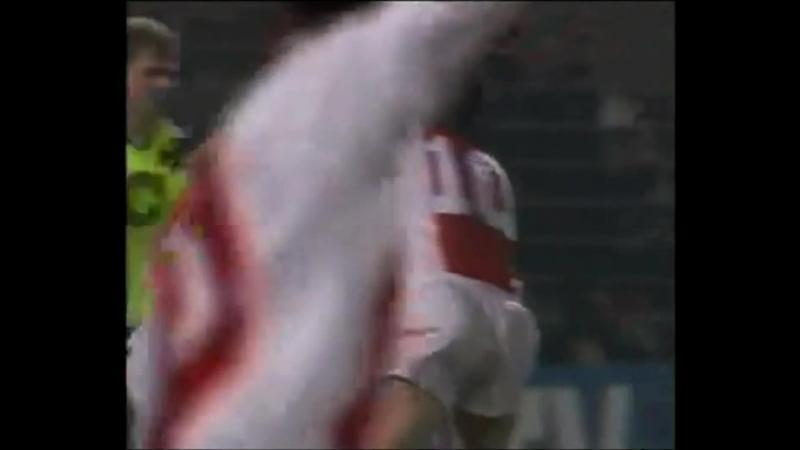 Лига чемпионов 1995 1996 1 4 финала Аякс Боруссия