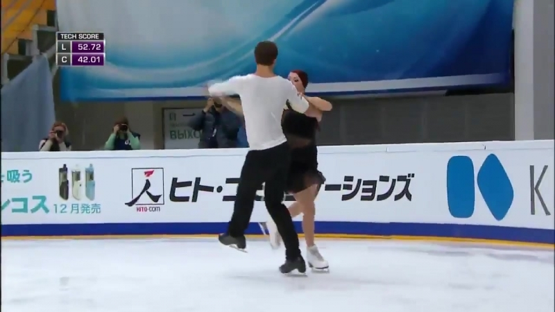 Ekaterina BOBROVA Dmitri SOLOVIEV Free Dance Rostelecom Cup 2016