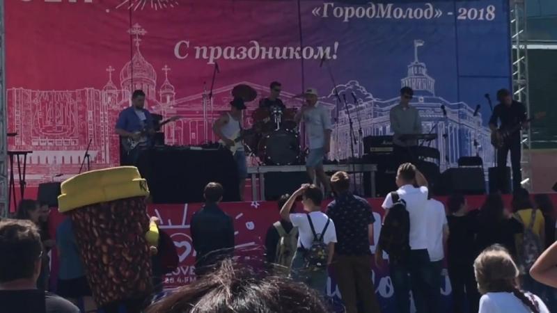 Tespian Чай Рок фестиваль Над Землёй 2018 Стадион Химик 30 06 2018