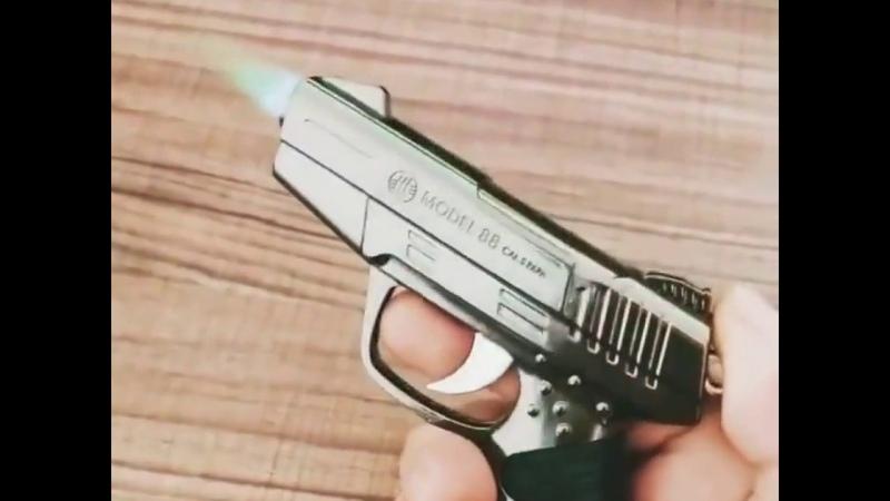 Пистолет зажигалка с AliExpress