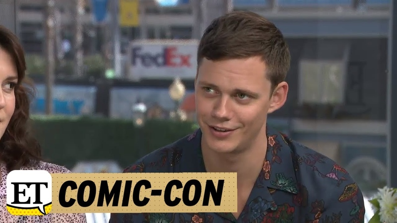 Comic Con 2018 Castle Rock Bill Skarsgard Jokes He Is Going To Act In A Romantic Comedy Next