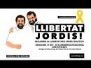 Protestes contra lempresonament de Jordi Sánchez i Jordi Cuixart 17 10 2017