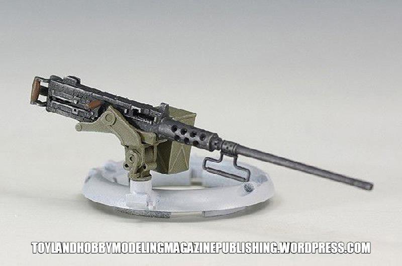 Hauler Models 1//35 AMERICAN M2 BROWNING MACHINE GUN Resin /& Photo Etch Set
