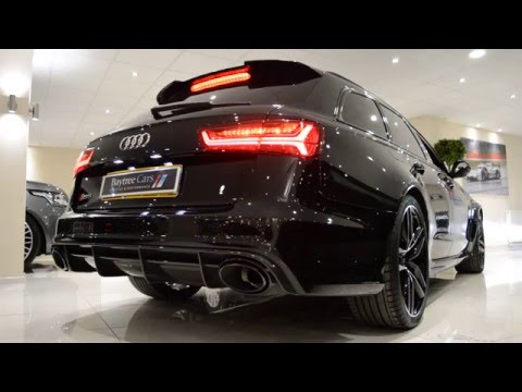 Audi RS6 4.0 Avant at Baytree Cars - COLD Start up and LOUD Crackles