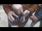 Появилось видео задержания фальшивомонетчиков, сбывавших доллары по курсу 100 тенге