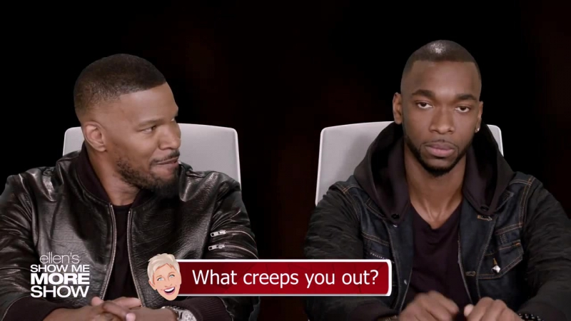 Jamie Foxx and Jay Pharoah Answer Ellen's Burning Questions