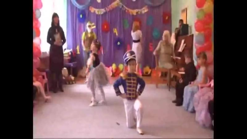 Балерина и оловянный солдатик Выпускной в детском саду