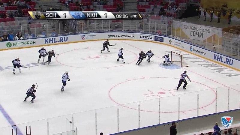 Моменты из матчей КХЛ сезона 14/15 • Удаление. Вярн Макс (ХК Сочи) за грубость 14.10