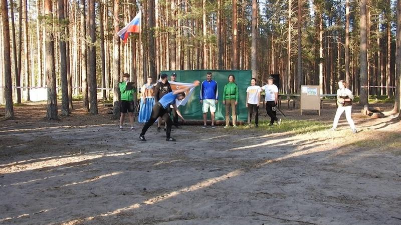 Муниципальный турслёт 2018 - приветствие команды ФОК
