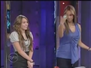 Miley Cyrus Interview At Tyra Banks Show 4⁄10⁄09 Part 3⁄6 HQ