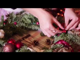 Рождественские веночки Cosmic Flowers💫