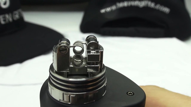 Oumier VLS RDA - горизонтальное и вертикальная установка спиралей.