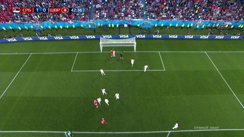 Чемпионат мира 2018. Футбол. Сербия - Швейцария. Группа E. 2-й тур. (22.06.18). HD 720p/50fps