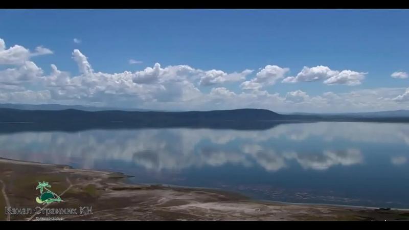 Чудеса Африки- Восхитительные розовые фламинго- Национальный парк озеро Накуру Кения