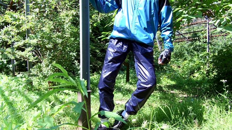 Тонкие суперблестящие болоневые штаны плащёвка