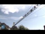 Новый стеклянный мост на юго-западе Китая