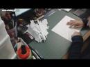 Genji Overwatch Cosplay Project Pepakura Helmet Timelapse