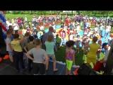 Детский спортиваный праздник в честь 80 летия самбо в Новосибирске