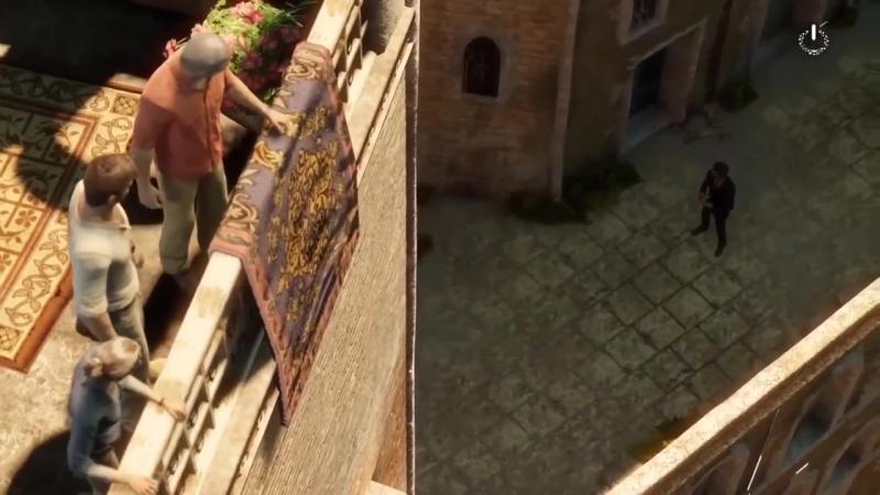 В поисках легендарного города Джиннов. Приключенческий игровой фильм Uncharted 3