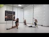 Экзотика в Дайкири. Танцы в Чебоксарах. Pole exotic Таня Толстова