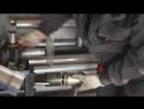 VW PASSAT B6 TSI Замена гофры глушителя