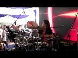 WAKA WAKA Metal Version Drum cover by Nur Amira Syahira
