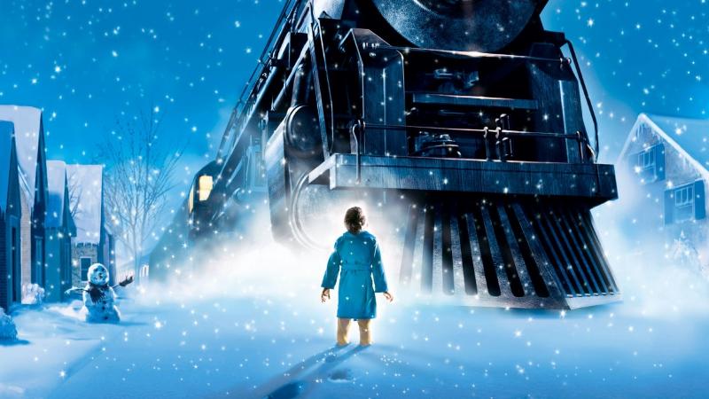 🎬Полярный экспресс (The Polar Express, 2004) HD