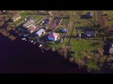 Квадрокоптер DJI Mavic pro над Сухоной. 4K