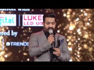 Jr NTR Emotional Speech At Filmfare Awards - Best Actor - Nannaku Prematho